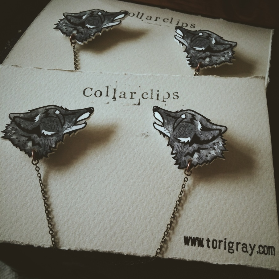 Wolf Collarclips