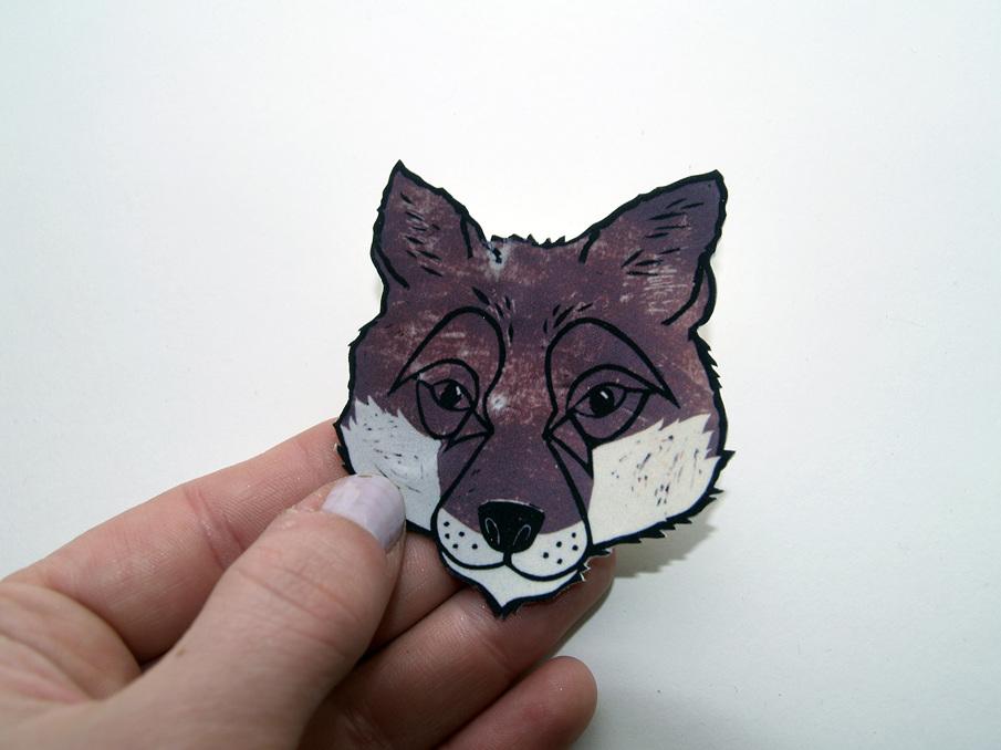 Foxy badge