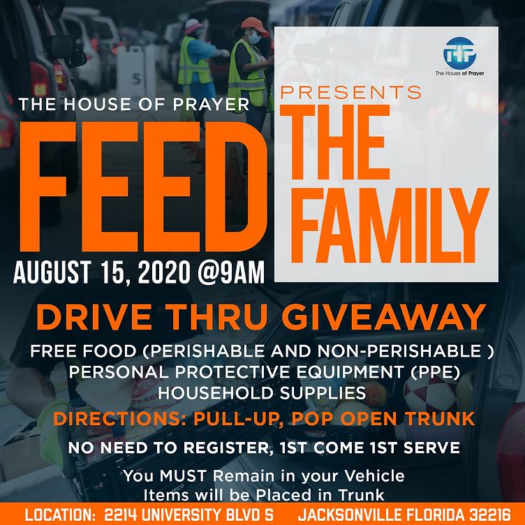 Feed The Family 8/15/20