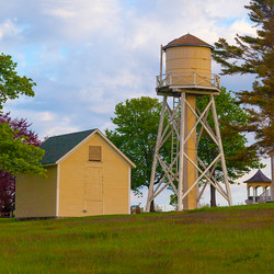 Yellow Barn Series Water Tower