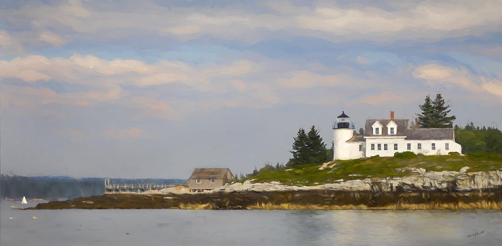 Pumpkin Island Light
