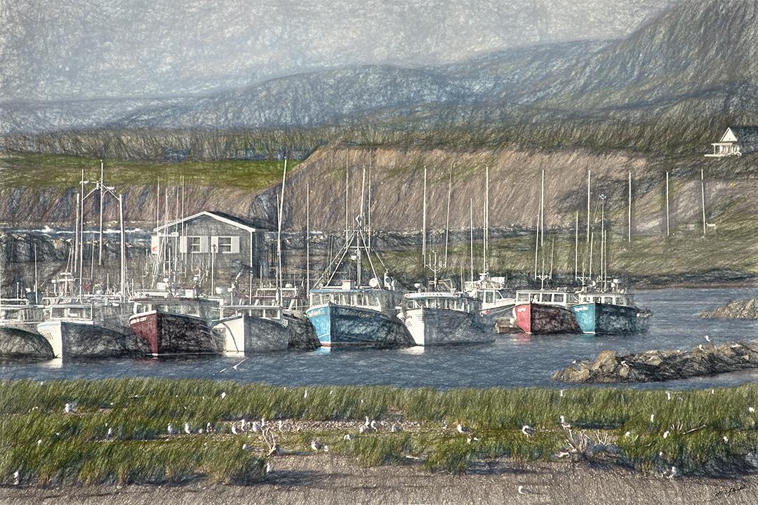 Margareet Boats Sketch