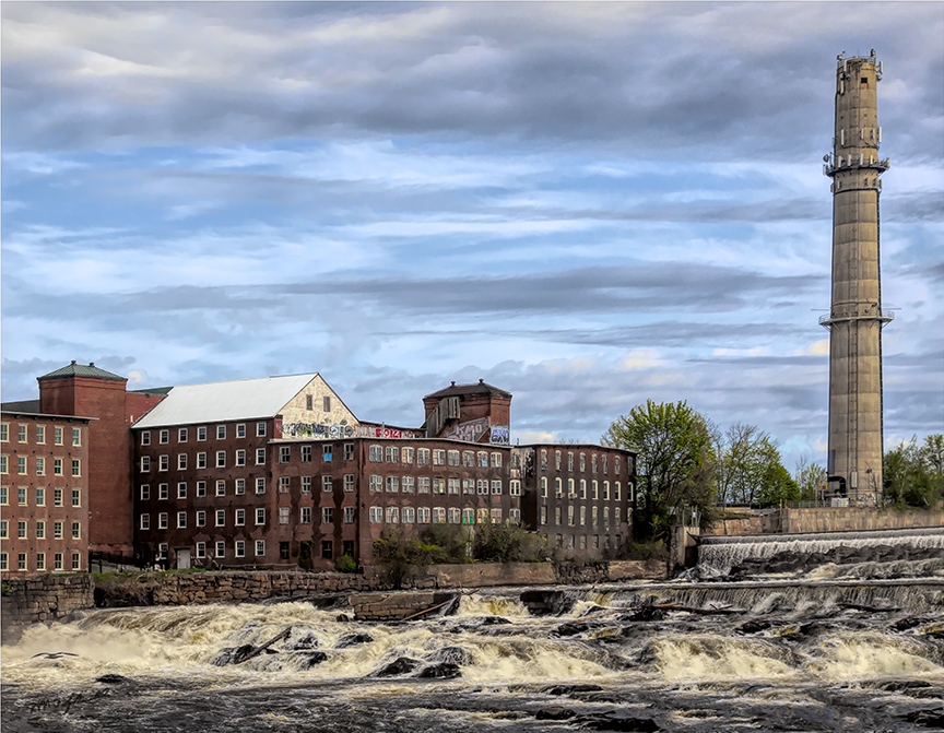 Sacco River and Biddeford Mills