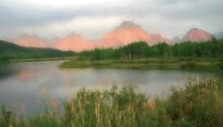 Sunrise at Oxbow Bend