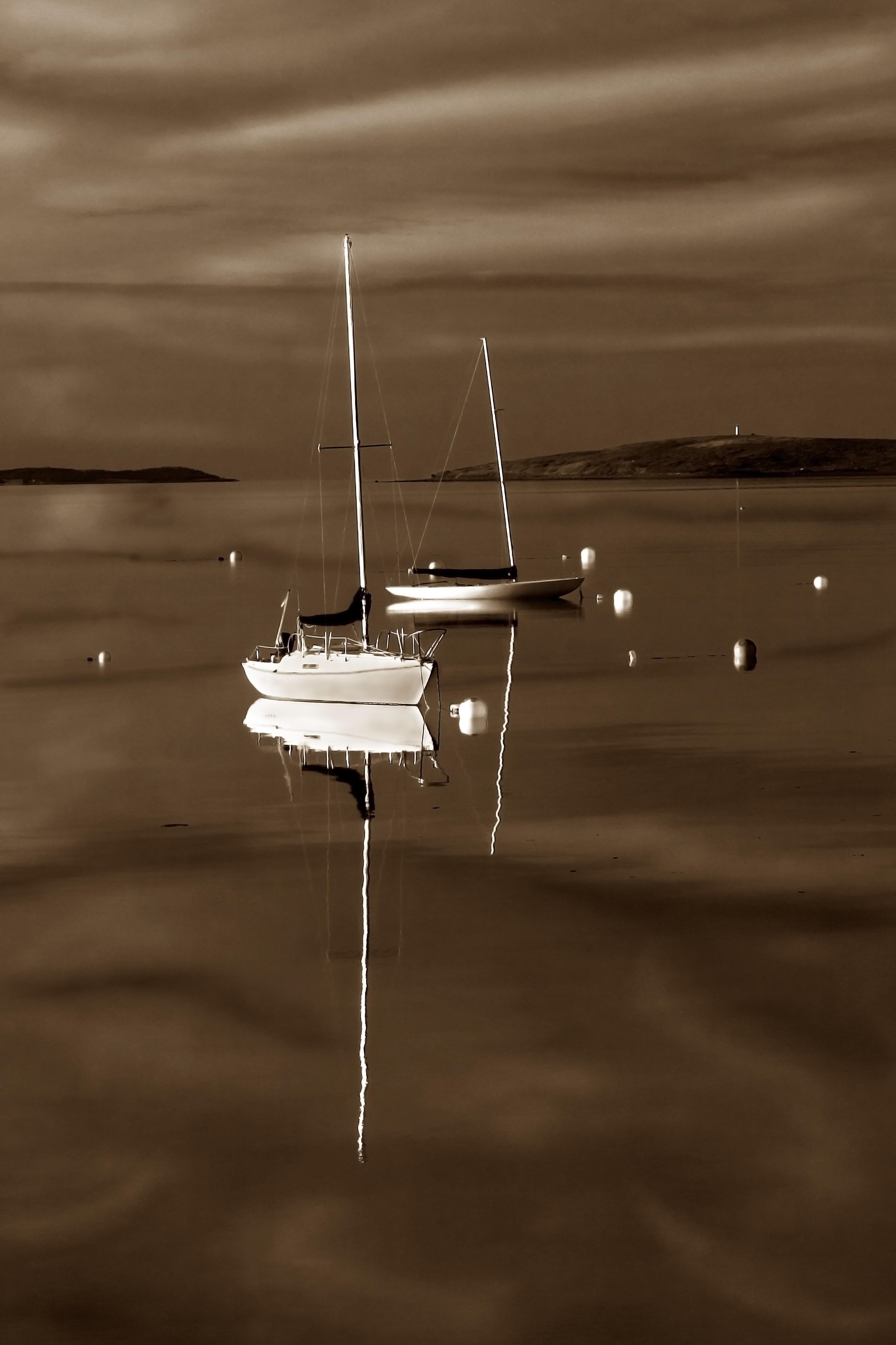 Silken Sailboats