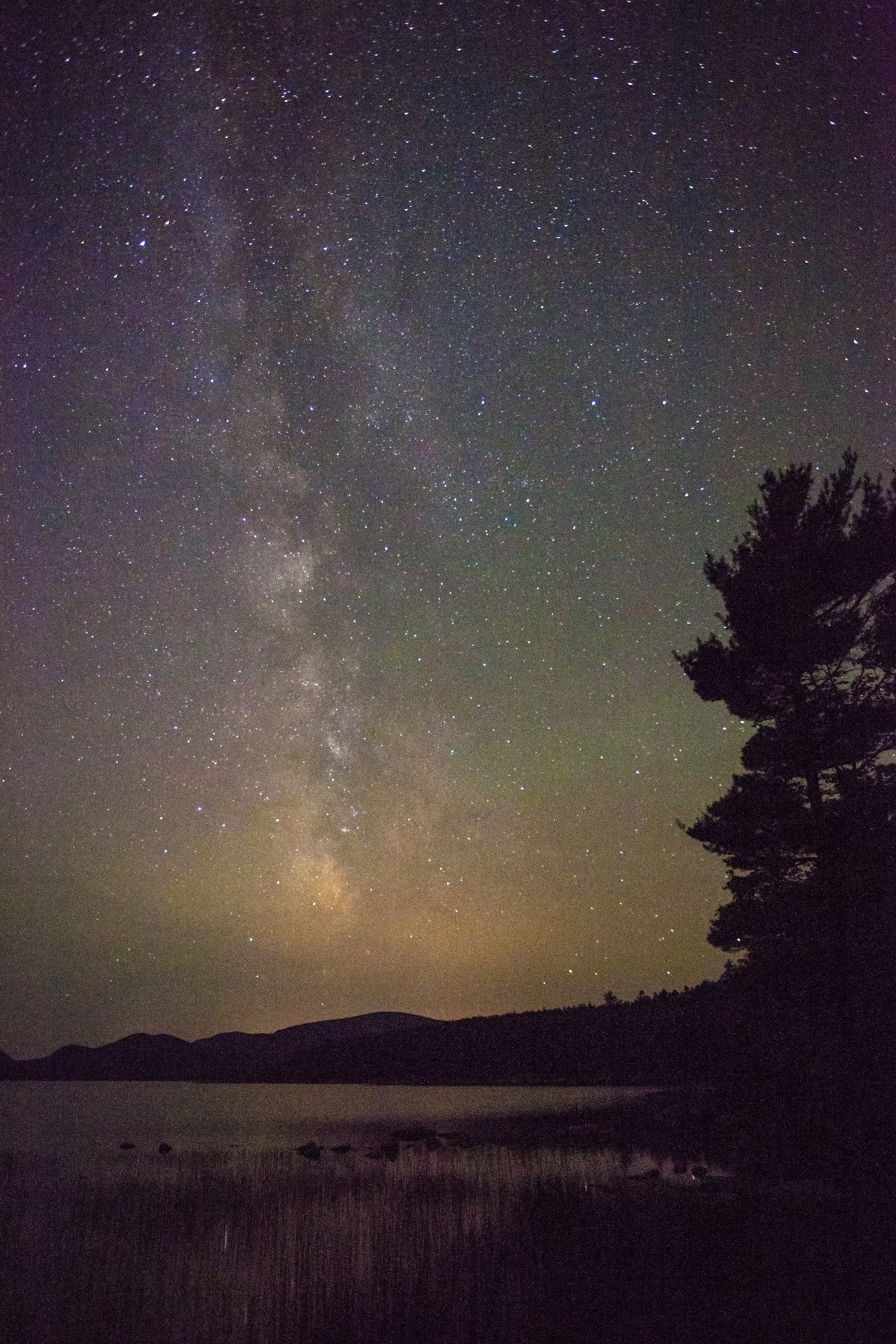 Milky Way Over Eagle Lake