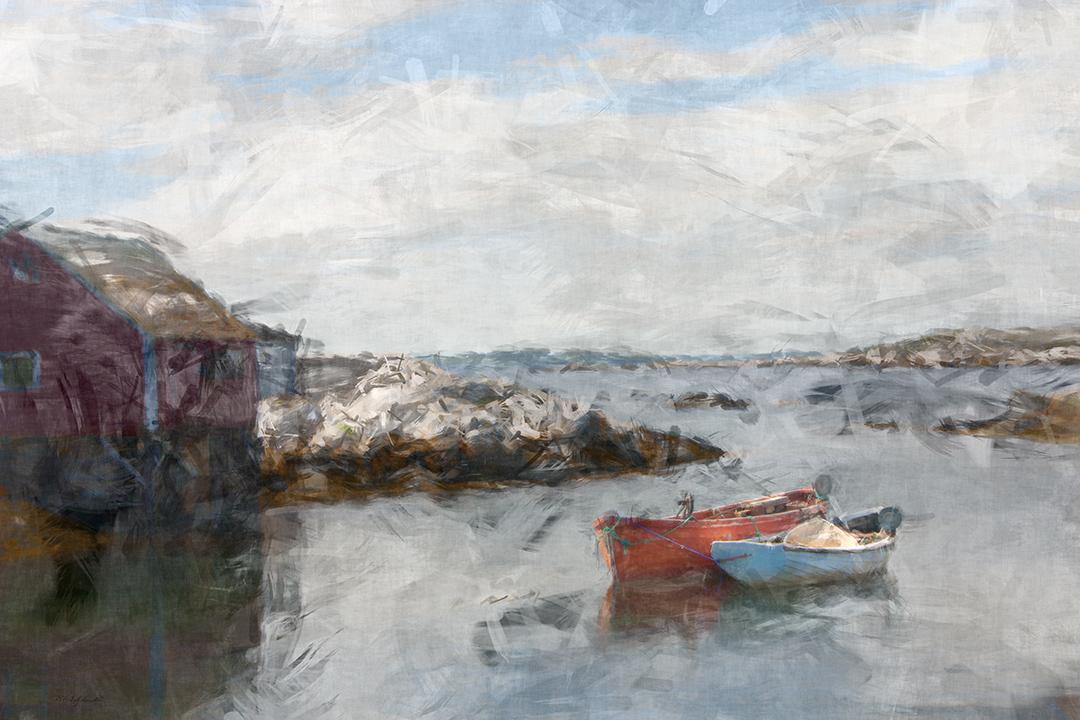 Peggy's Cove Paint