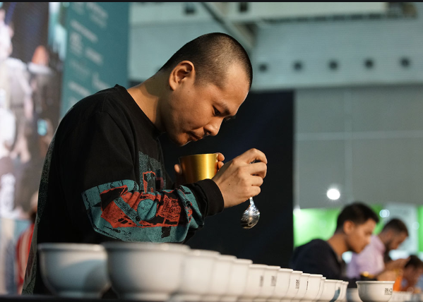 Yama in the cuptasting competiton