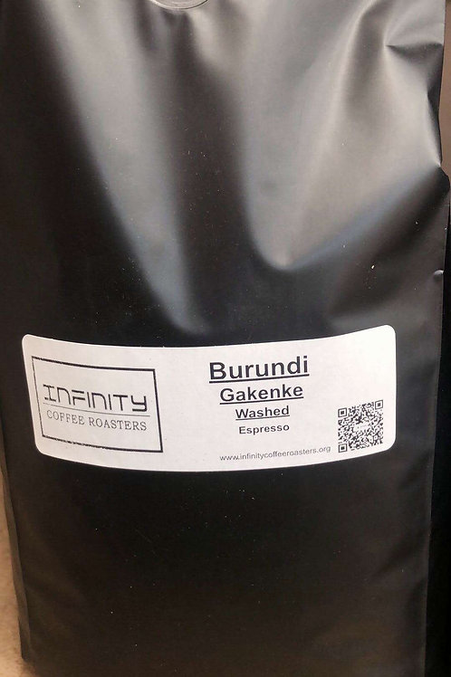Single Origin Espresso - Burundi Gakenke Washed -250g