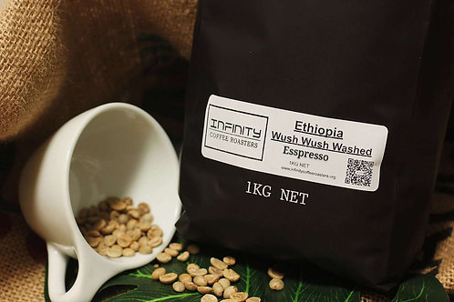 Single Origin Espresso - Ethiopia Wush Wush Washed - 250g