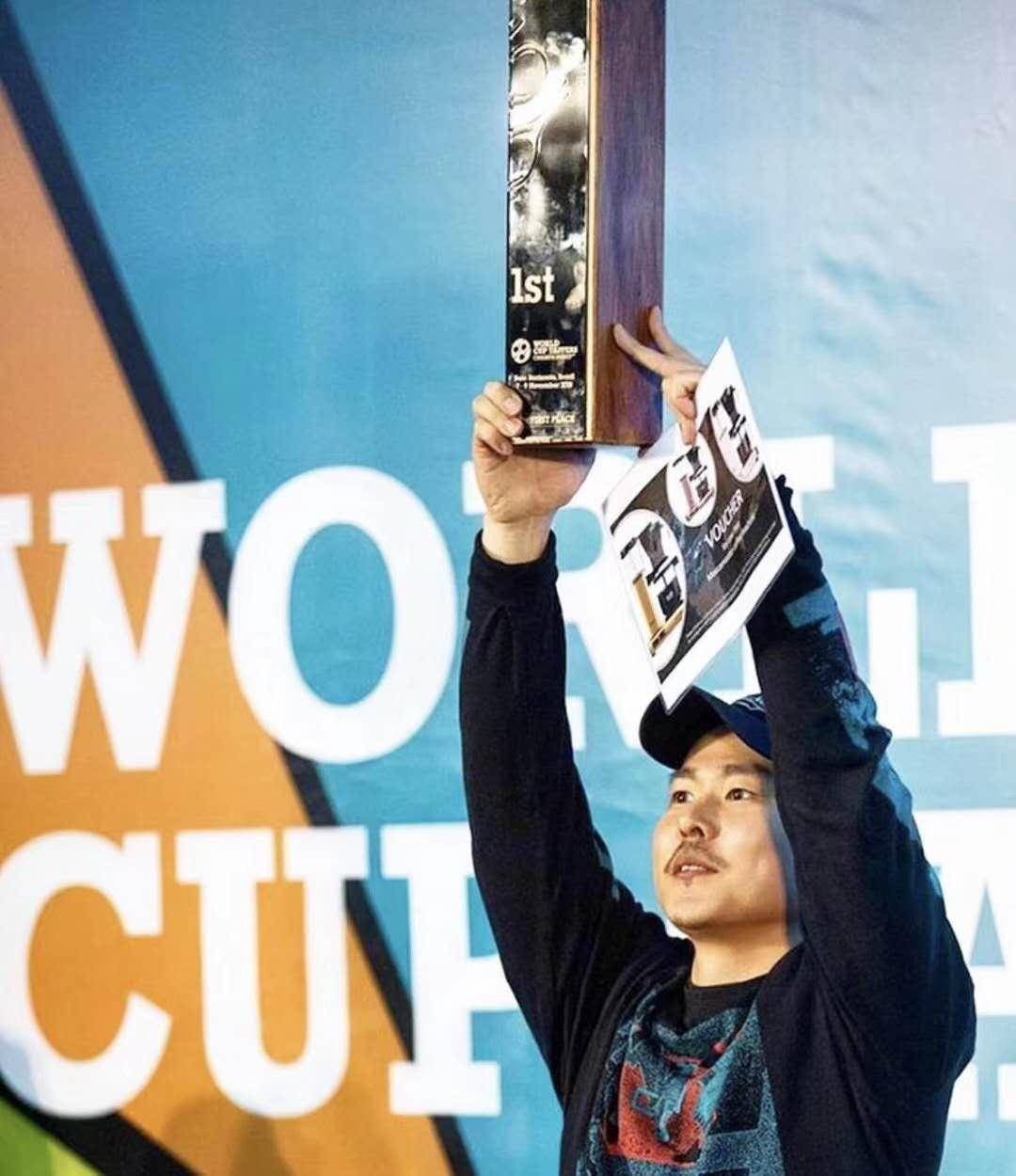 cuptasting world champion