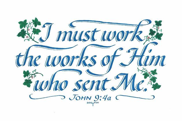John 9:4a (Downloadable)