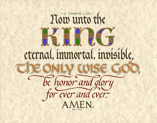 I Timothy 1:17