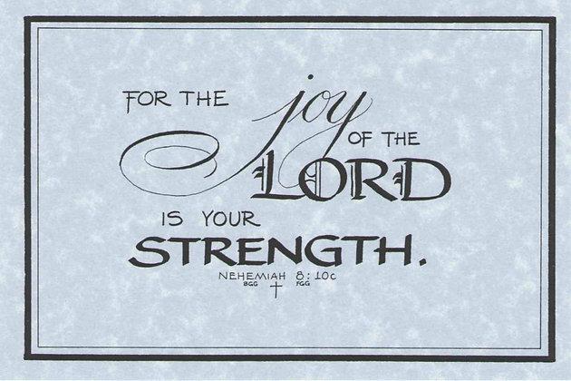Nehemiah 8:10c (Downloadable)