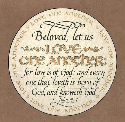 I John 4:7