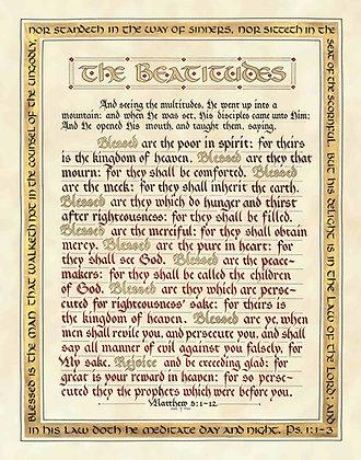 Matthew 5:1-12 (Downloadable)
