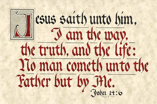 John 14:6 (Downloadable)