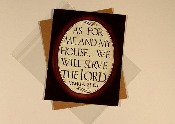 Joshua 24:15c