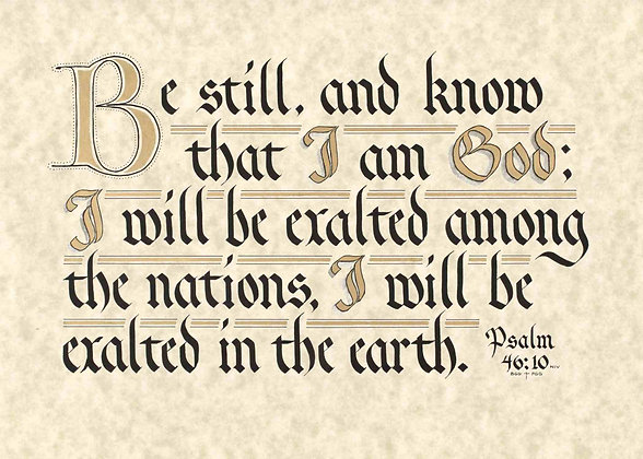 Psalm 46:10 (Downloadable)