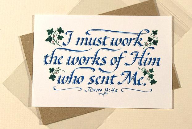 John 9:4a