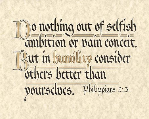 Philippians 2:3 (Downloadable)