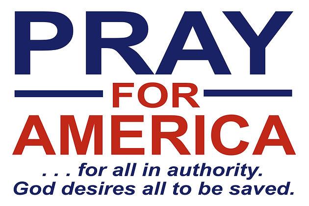 Prayer Yard Sign