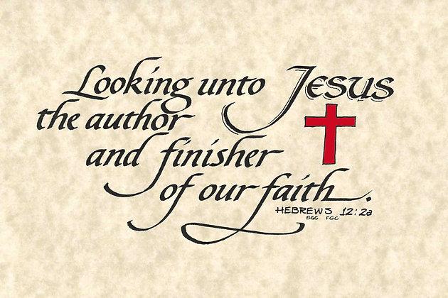 Hebrews 12:2a (Downloadable)