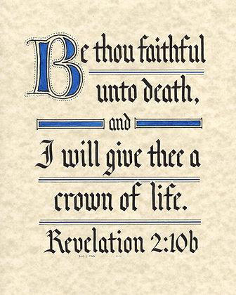 Revelation 2:10b