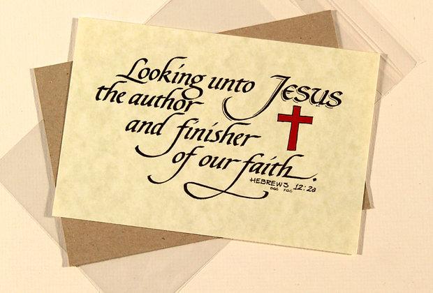 Hebrews 12:2a