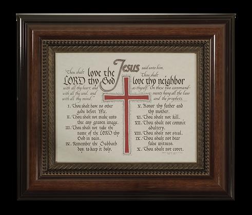 Exodus 20:3-17 (Ten Commandments)