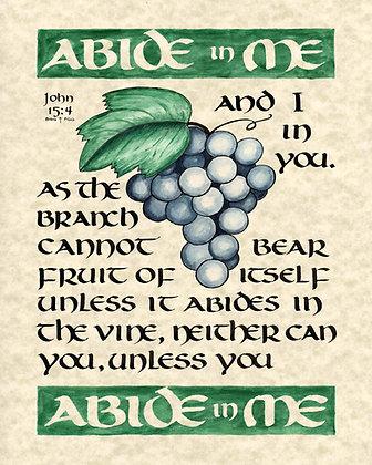 John 15:4 (Downloadable)