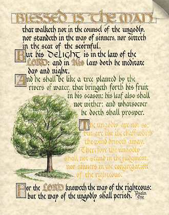 Psalm 1 (Downloadable)