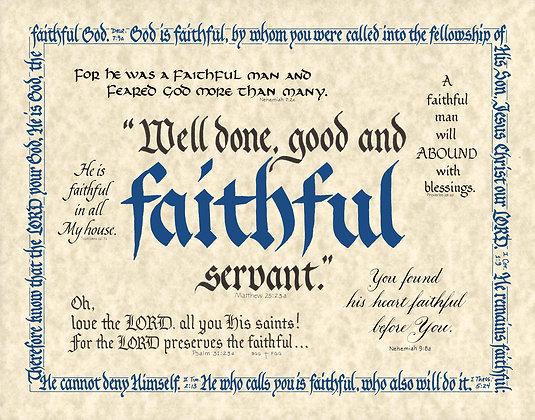 Faithful Scripture Medley