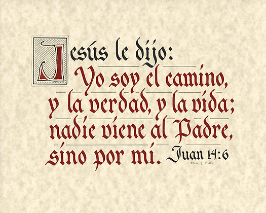 John 14:6 Spanish