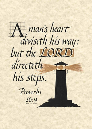 Proverbs 16:9 (Downloadable)