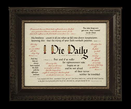 """I Die Daily"" Scripture Medley"