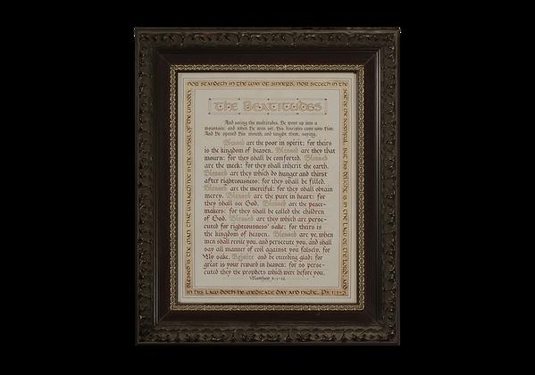 Matthew 5:1-12 (The Beatitudes)