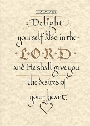 Psalm 37:4 (Downloadable)