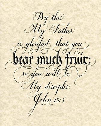 John 15:8 (Downloadable)