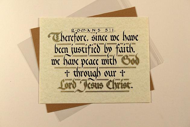 Romans 5:1