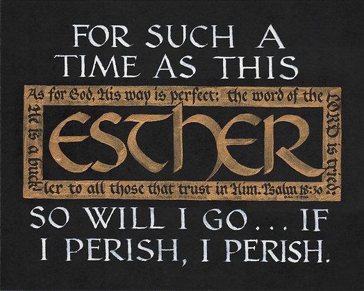 Esther 4:14c