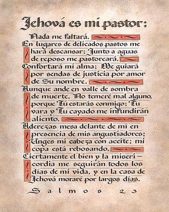 Psalm 23 Spanish
