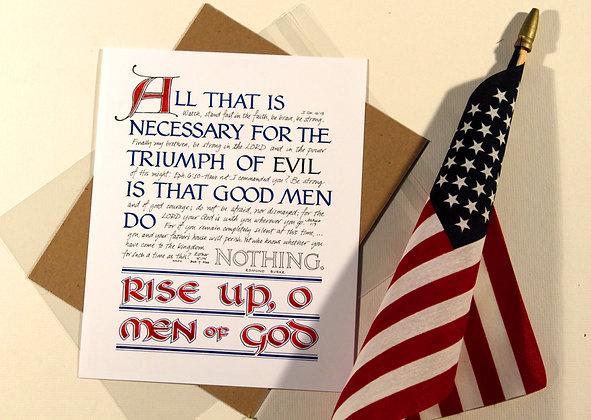 Rise Up, O Men of God