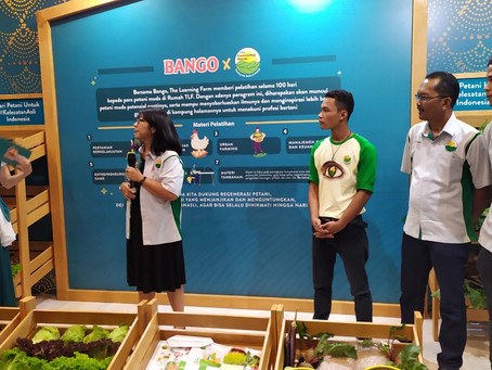 """Regenerasi Petani Muda Indonesia"" Collaborative Program Unilever and The Learning Farm"