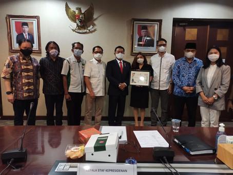 Discussion with the Himpunan Kerukunan Tani Indonesia (HKTI)