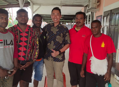 Papuan Students in Batch 36