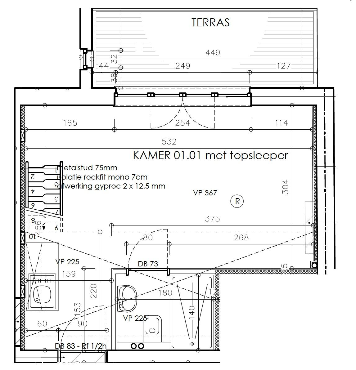 DB12-0101 - grondplan