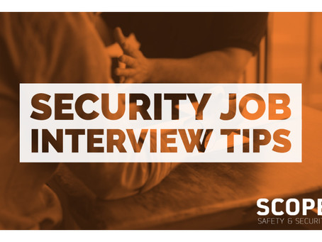 Security Job Interview Tips