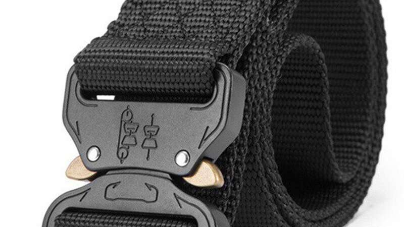 New Nylon Tactical Belt