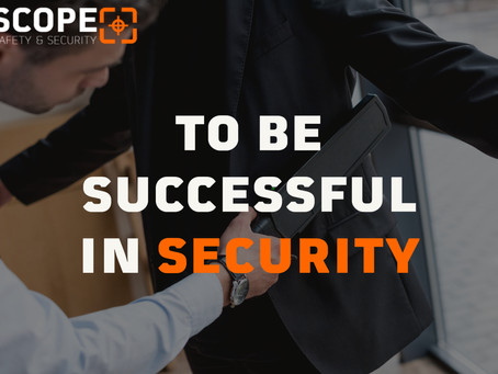 To Be Successful In Security